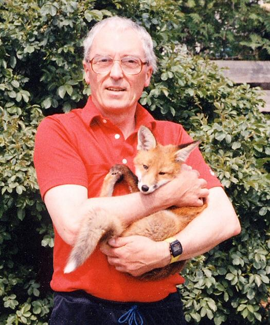Me with a fox cub