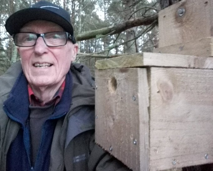 Milton Loch Nest Box Check